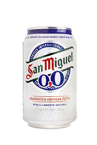San Miguel - helles alkoholfreies Bier - 1 x 0,33 l