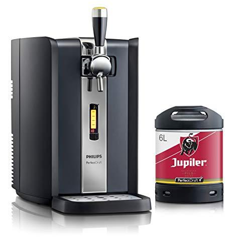 Bierzapfanlage PerfectDraft 6-Liter. Beinhaltet 1 x 6L Fass Jupiler Bier - Lager. Inklusive 5euros...