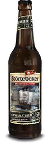 10 Flaschen Störtebeker Bier Schwarzbier Schwarz Bier a 0,5L Brauspezialitäten 5% Vol.inc. 0.80€...