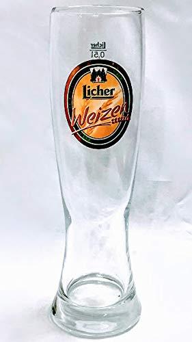 Licher 0,5l Glas/Weizen/Bierglas/Biergläser/Gläser/Bier/Gastro/Bar/Sammler/Sammel / 6er Set