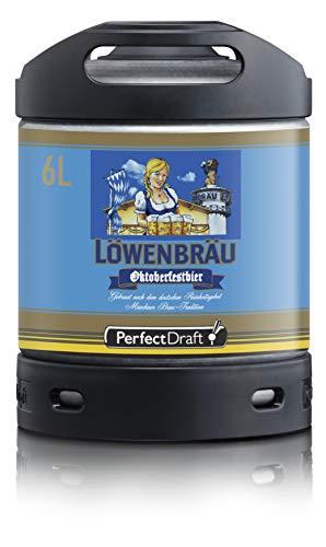 Bier PerfectDraft 1 x 6-Liter Fass Löwenbräu Oktoberfestbier Bier - Lager. Zapfanlage für...