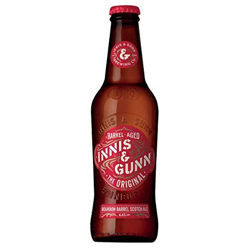 Innis & Gunn The Original 0,33 l Bier aus Schottland Bourbon Fass gereift, inkl. 0,25 EUR Pfand