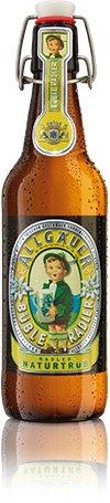 20 Flaschen Allgäuer Büble Radler 2,3% vol. a 500ml inclusiv 3.00€ MEHRWEG Pfand Bügelflaschen...