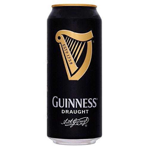 Guinness Irisches Bier, Draught - Stout (6 x 4 x 0,44l) inkl. 6,00€ Pfand EINWEG