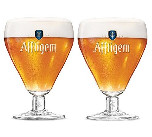 Affligem Belgischer Ale Kelch Bierglas, 2 Stück