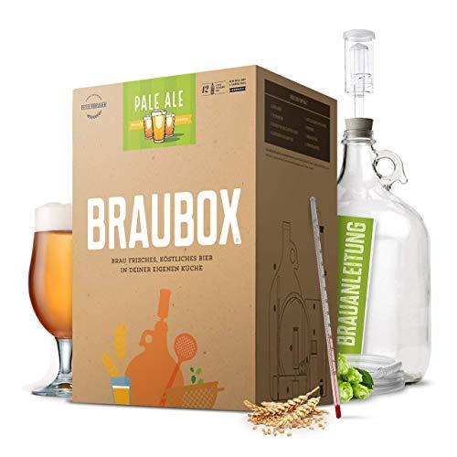 Braubox®, Sorte'Pale Ale' ● Bierbrauset zum Bier brauen in der Küche ● mit Erfolgsgarantie von...