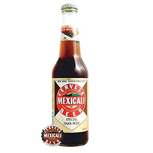 Premium Dunkles Bier aus México, Flasche 330ml / Cerveza MEXICALI Special Dark Beer, 5,5% vol