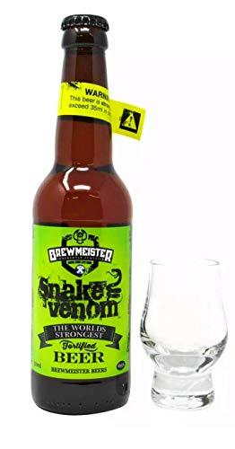 Snake Venom das stärkste Bier der Welt mit 67,5% Alkohol
