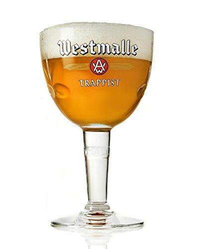 Westmalle Bierglas Bier Kelch 33cl