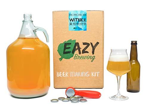 Eazy Brewing® - Bierbrauset zum Bier Brauen - Bier Brauen Set Sorte Belgisches Weißbier (WitBier)...