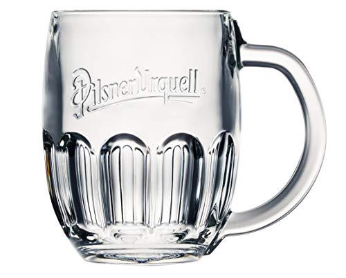 Pilsner Urquell 6 Stück Glas Halbliterglas 0,5l Bierglas Humpen Seidel