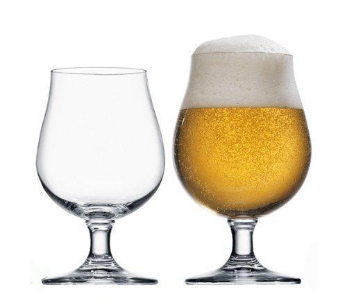 Stölzle Lausitz 0,3l Biertulpe der Serie Berlin, 300 ml, 6er Set, hoch Funktionelle Bier-Gläser,...