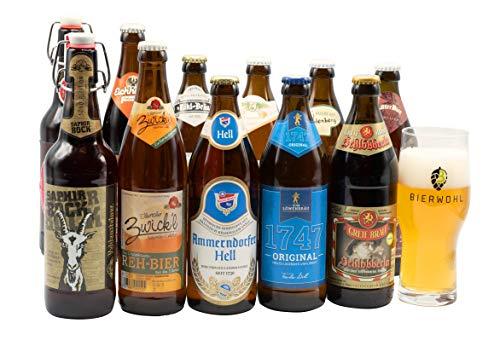 Bierwohl I Geschenkidee I Das kleine Große I Probierset verschiedener fränkischer Biere I...