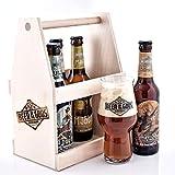 Wacken Brauerei - Eine Hand voll Götter im Holzträger - Craft beer Set 5x Beer of the Gods -...