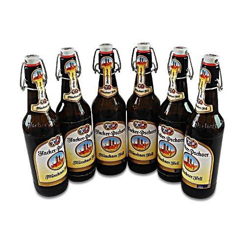 Hacker-Pschorr Münchner Hell (6 Flaschen à 0,5 l / 5,0% vol.)