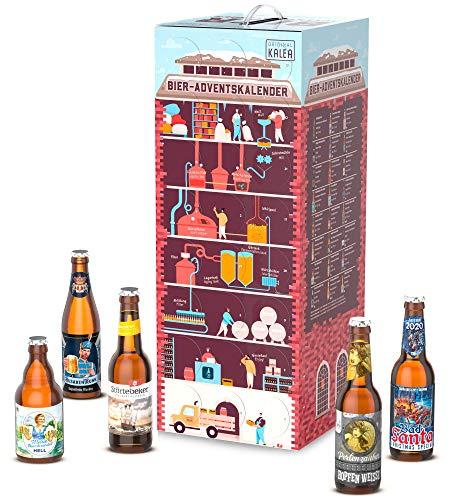 Kalea Bier Adventskalender 2020, 24 Biere von Privatbrauereien, inkl. Bier Informationen und Videos...
