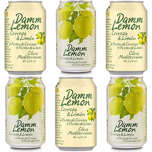 DAMM LEMON Bier 3.2% Alkohol. Dosen 330 ml. Estrella Damm. bier dose, biere der welt, bier set,...