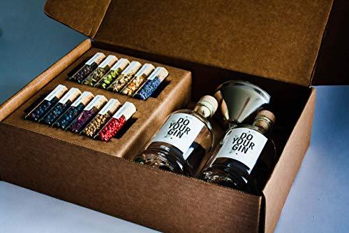 DO YOUR GIN | DIY Gin-Set – für zu Hause oder als Geschenk | Bekannt aus Sat1, Vogue, Spiegel |...