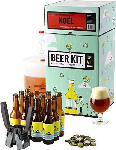 HOPT Bierbrau-Kit komplettes Anfänger-Weihnachtsbier