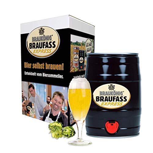 BRAUKÖNIG ® Braufass Express - Black Edition