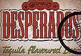 JTY store Vintage Wandkunst Dekor Zeichen Novelty Funny Sign Desperados Vintage Home Bar Pub Club...