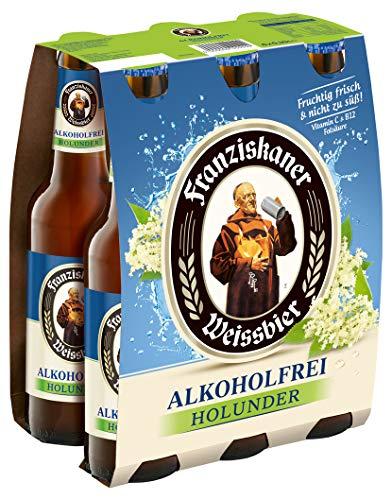Franziskaner Alkoholfrei Holunder Biermischgetränk MEHRWEG (6 x 0.33 l)