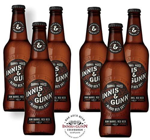 Innis & Gunn Blood Red Sky Rum Barrel Red Beer mit 6,8% Alc Uk Bier inkl. 1,50 EUR Pfand