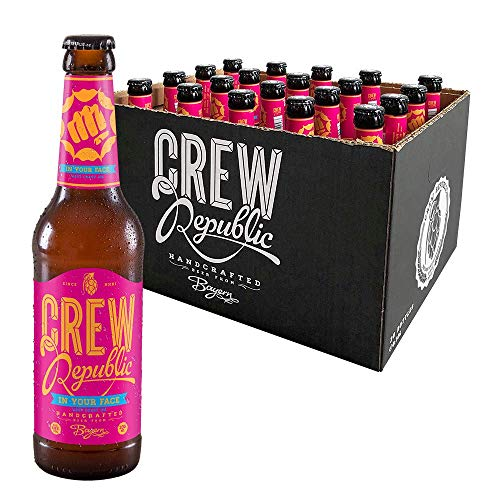 CREW REPUBLIC® In Your Face West Coast IPA Craft Bier | Platin Award American India Pale Ale 2019 |...