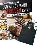 So schön kann Grillen sein: Das Krombacher Grillbuch - Set: Buch & Grillschürze