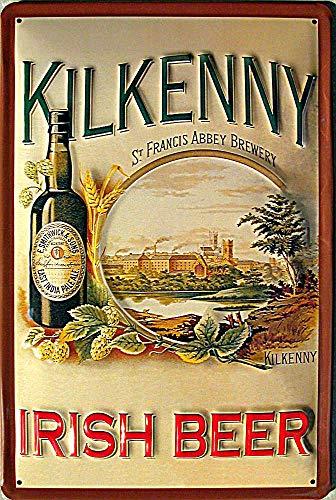 Blechschild Nostalgieschild - 20 x 30 cm schwere Qualität: Kilkenny Irish Beer
