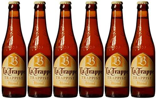 6 Flaschen La Trappe Blond a 0,33l 6,5% Vol. inc. MEHRWEG Pfand
