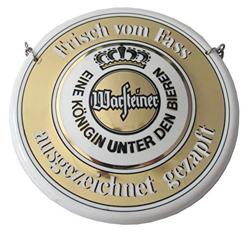 Warsteiner Brauerei - Frisch von Fass ausgezeichnet gezapft - Zapfhahnschild - 11 cm