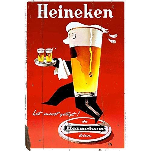 uwuzihuisho Blechschild Heineken seltenes Poster rostet Vintage Dekor Home Bar Pub Garage Wal...