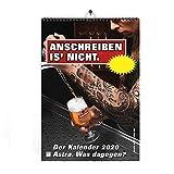 ASTRA A3 Wandkalender 2020 mit unterschiedlichen Bier-Motiven, lustiger Kalender zum Aufhängen,...