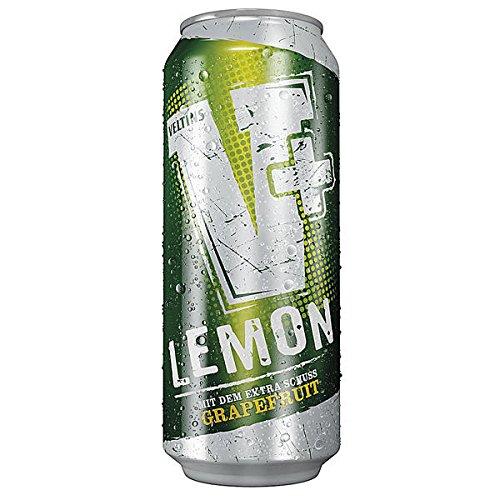 24 Dosen Veltins V-Plus Lemon a 0,5L Liter Bier inc. 6.00 Euro EINWEG Pfand