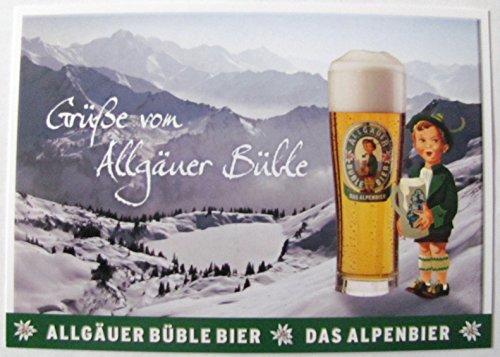 Allgäuer Brauhaus - Büble Bier - Grüße von Allgäuer Büble - Postkarte - Motiv 11