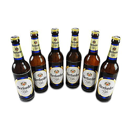 Herforder Pils (6 Flaschen à 0,5 l / 4,8% vol.)