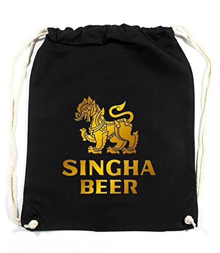 Certified Freak Singha Beer Gymsack Black