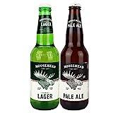 Moosehead Bier aus Kanada - 2er BEER SET - je 0,33l - von.BierPost.com