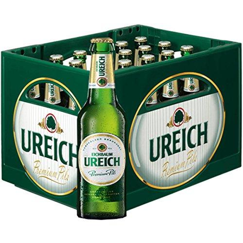 20 x Eichbaum Ureich Premium Pils 0.5l 4,9% vol. Originalkiste MEHRWEG