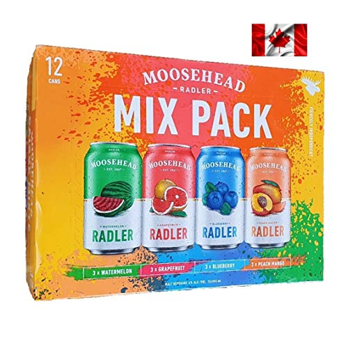Moosehead Radler in 4 leckeren Geschmacksrichtungen (Wassermelone, Blaubeere, Grapefruit und...