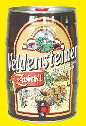 Veldensteiner Zwickl Bier 5l Fass