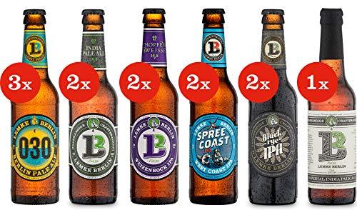 LEMKE Berlin IPA Bros. | Bier Mix Box Pale Ale + India Pale Ale (12 x 0,33l) Craft Bier, Craft Beer