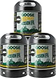 Bier Multipack, 3x Perfect Draft 6L Fass | Fassbier, inkl 15 EUR MEHRWEG Pfand (Goose Island Session...