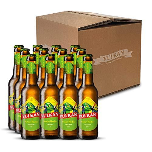 VULKAN Brauerei Radler Vorteilspaket  VULKAN Natur-Radler   12 x 0,33l (2,50€/l)