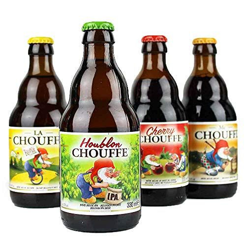 4er La Chouffe Bierset aus Belgien - von.BierPost.com je 0,33l