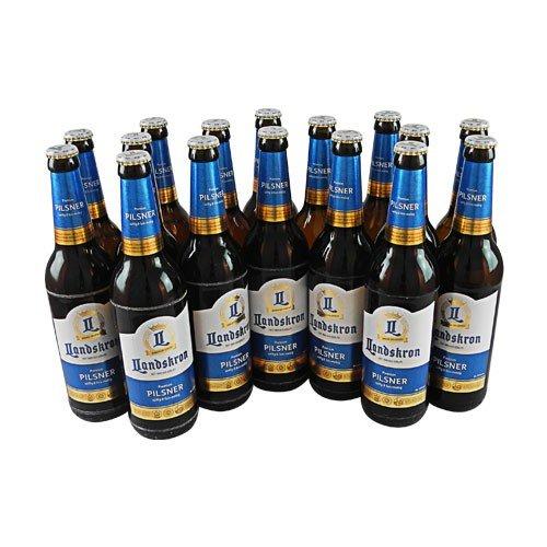 Landskron Premium Pilsner (16 Flaschen à 0,5 l / 4,8% vol.)