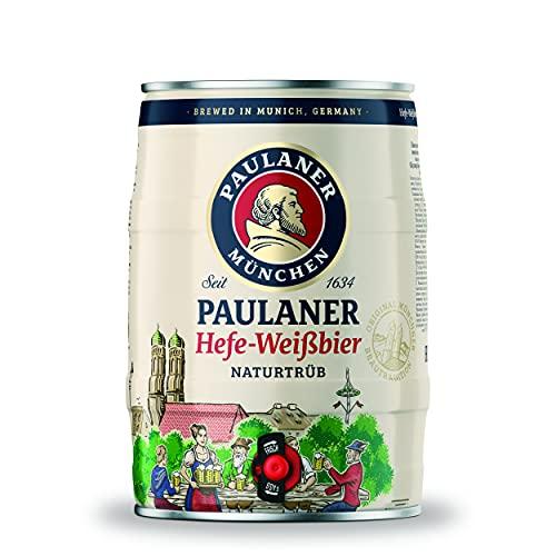 Paulaner Hefe-Weißbier Naturtrüb, Partyfass (1 x 5,0l Dose)