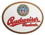 Budweiser Budvar - Werbeschild aus Kunststoff zum Aufhängen - 40 x 31 cm