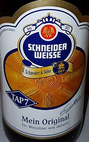 Schneider Weisse - Hefe-Weizenbier (TAP 7 / 0,5 l / 5,4 % vol.)